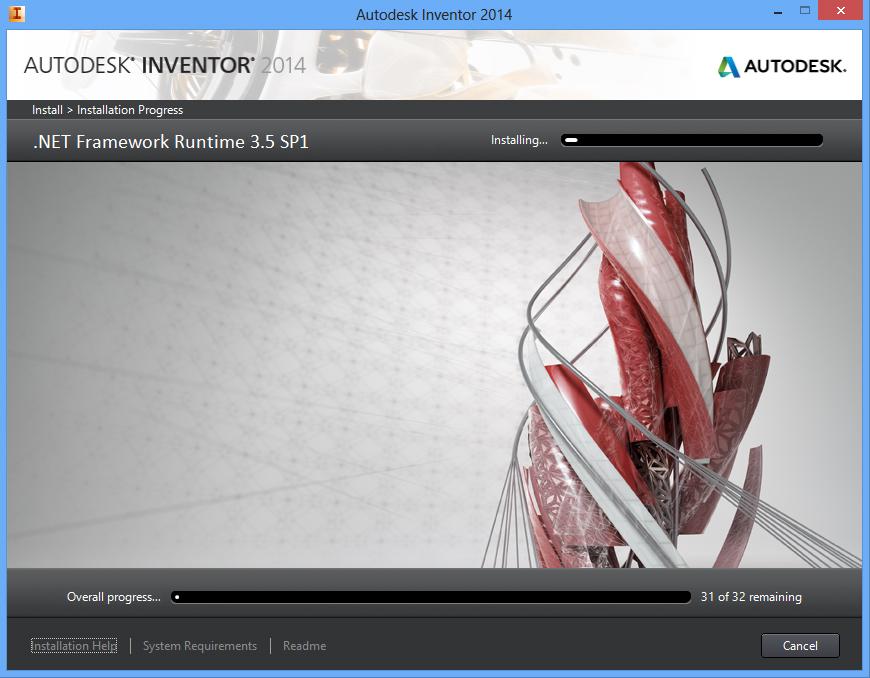 Cài đặt phần mềm Autodesk Inventor 2014 bằng hình ảnh chi tiết