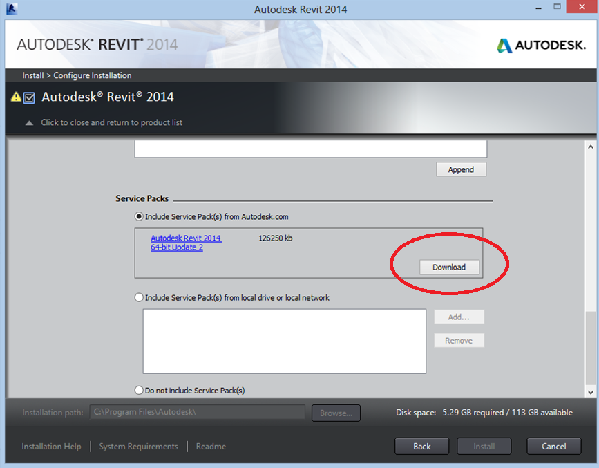revit 2014 with crack