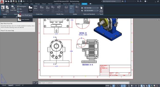 AutoCAD interface screenshot