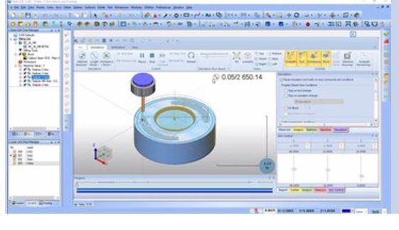 Hình ảnh của phần mềm CAM tốt nhất cho SolidWorks, AutoCAD & co: BobCAD-CAM