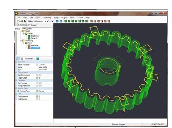 Hình ảnh của phần mềm CAM tốt nhất cho SolidWorks, AutoCAD & co.: CAMBAM