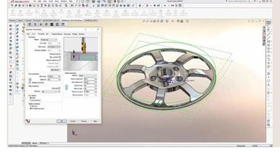 Hình ảnh của phần mềm CAM tốt nhất cho SolidWorks, AutoCAD & co: CAMWorks
