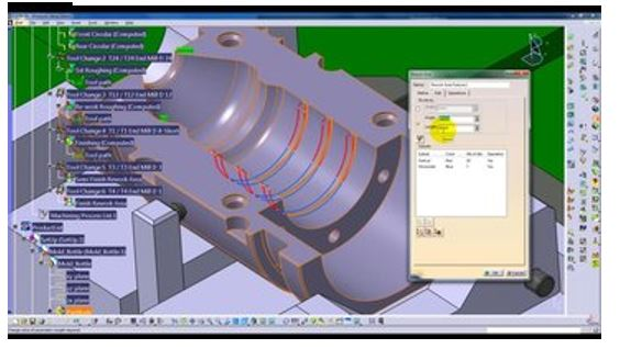Hình ảnh của phần mềm CAM tốt nhất cho SolidWorks, AutoCAD & co.: CATIA