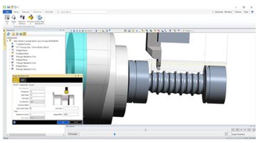 Hình ảnh của phần mềm CAM tốt nhất cho SolidWorks, AutoCAD & co.: EdgeCAM