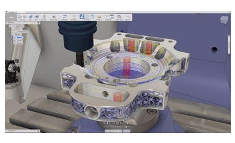 Hình ảnh của phần mềm CAM tốt nhất cho SolidWorks, AutoCAD & co.: Fusion 360
